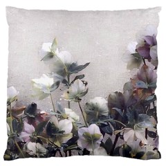 Watercolour Large Flano Cushion Case (One Side)