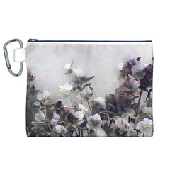 Watercolour Canvas Cosmetic Bag (XL)