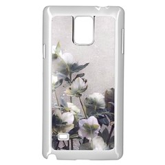 Watercolour Samsung Galaxy Note 4 Case (White)