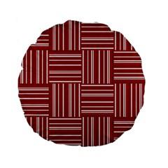 Pattern Standard 15  Premium Flano Round Cushions