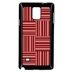 Pattern Samsung Galaxy Note 4 Case (Black)