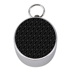 Pattern Mini Silver Compasses