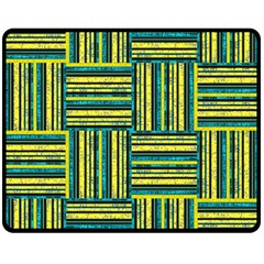 Pattern Double Sided Fleece Blanket (Medium)