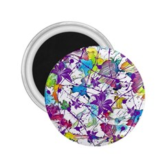 Lilac Lillys 2.25  Magnets