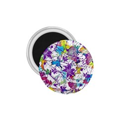 Lilac Lillys 1.75  Magnets