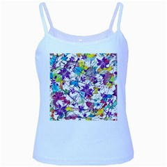 Lilac Lillys Baby Blue Spaghetti Tank