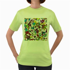 Lilac Lillys Women s Green T-Shirt