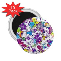 Lilac Lillys 2.25  Magnets (10 pack)