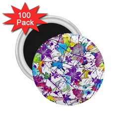 Lilac Lillys 2.25  Magnets (100 pack)