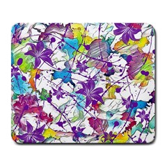 Lilac Lillys Large Mousepads