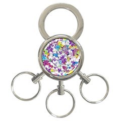 Lilac Lillys 3-Ring Key Chains