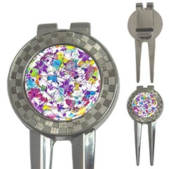 Lilac Lillys 3-in-1 Golf Divots