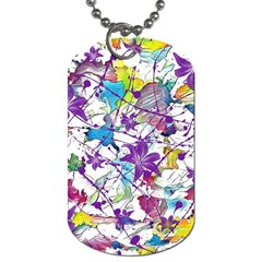 Lilac Lillys Dog Tag (Two Sides)