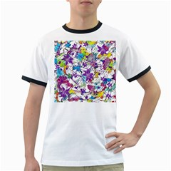 Lilac Lillys Ringer T-Shirts