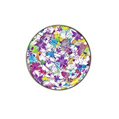 Lilac Lillys Hat Clip Ball Marker