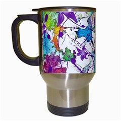 Lilac Lillys Travel Mugs (white)