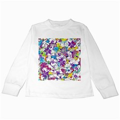 Lilac Lillys Kids Long Sleeve T-Shirts