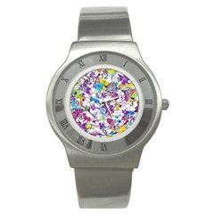 Lilac Lillys Stainless Steel Watch