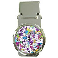 Lilac Lillys Money Clip Watches