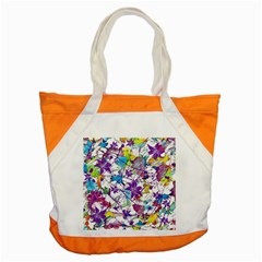 Lilac Lillys Accent Tote Bag