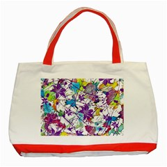 Lilac Lillys Classic Tote Bag (Red)