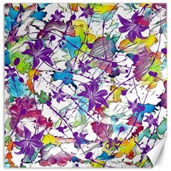 Lilac Lillys Canvas 20  X 20