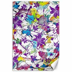Lilac Lillys Canvas 24  X 36