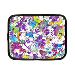 Lilac Lillys Netbook Case (Small)