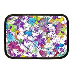 Lilac Lillys Netbook Case (Medium)