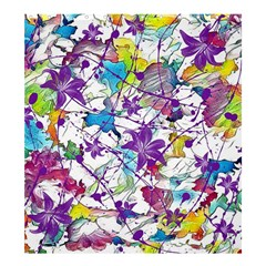 Lilac Lillys Shower Curtain 66  X 72  (large)