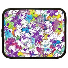 Lilac Lillys Netbook Case (xl)