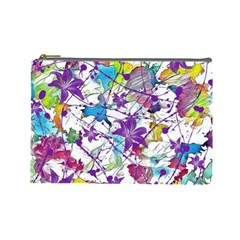 Lilac Lillys Cosmetic Bag (Large)