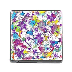Lilac Lillys Memory Card Reader (square)