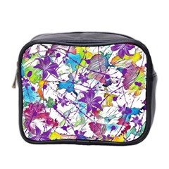 Lilac Lillys Mini Toiletries Bag 2-Side