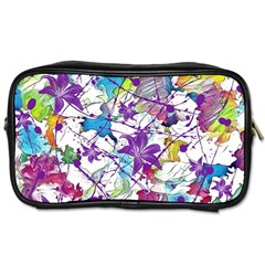 Lilac Lillys Toiletries Bags 2 Side