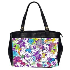 Lilac Lillys Office Handbags (2 Sides)