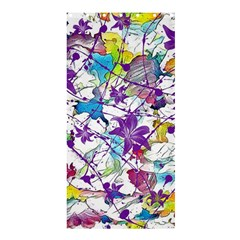 Lilac Lillys Shower Curtain 36  x 72  (Stall)