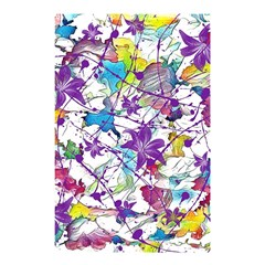 Lilac Lillys Shower Curtain 48  x 72  (Small)