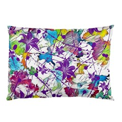 Lilac Lillys Pillow Case (Two Sides)