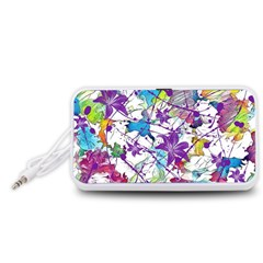 Lilac Lillys Portable Speaker (White)