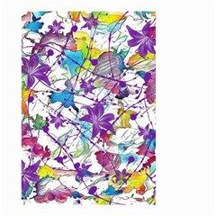 Lilac Lillys Small Garden Flag (Two Sides)