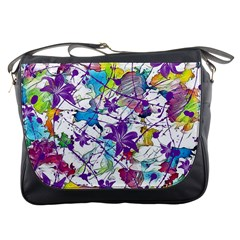 Lilac Lillys Messenger Bags