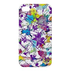 Lilac Lillys Apple Iphone 4/4s Premium Hardshell Case