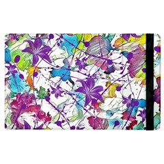 Lilac Lillys Apple iPad 2 Flip Case