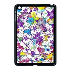 Lilac Lillys Apple iPad Mini Case (Black)
