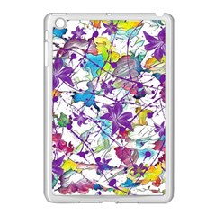 Lilac Lillys Apple iPad Mini Case (White)