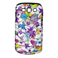 Lilac Lillys Samsung Galaxy S III Classic Hardshell Case (PC+Silicone)