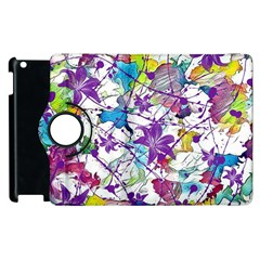 Lilac Lillys Apple Ipad 2 Flip 360 Case