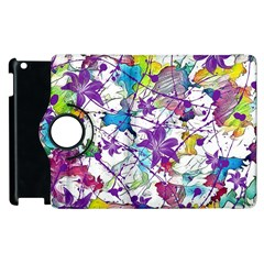 Lilac Lillys Apple iPad 3/4 Flip 360 Case