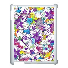 Lilac Lillys Apple Ipad 3/4 Case (white)